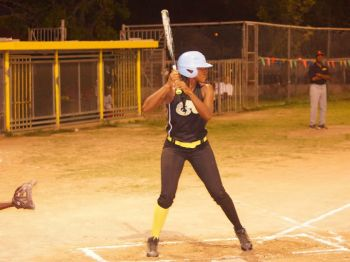 A hitter readies for the pitch. Photo: Andre 'Shadow' Dawson