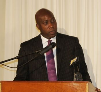The call to Minister for Education and Culture, Hon. Myron V. Walwyn was suddenly cut when the reporter mentioned being from Virgin Islands News Online. Photo: VINO/File
