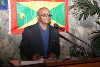 The keynote address was given by Grenadian and High Court Judge residing and serving in the Virgin Islands, Justice Albert Redhead. He spent his time reflecting on the history of Grenada and the need for those Grenadians in the Virgin Islands to form a vibrant association. Photo: Team of Reporters