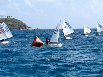 Scene from the Martin Luther King Regatta, hosted by the St. Thomas Yacht Club in the US Virgin Islands. Photo: Peter Clarke