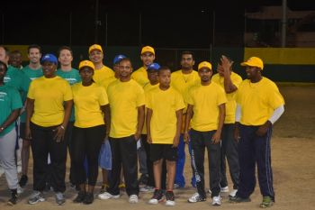 The winning Delta Petroleum team (yellow). Photo: Charlie E. Jackson/VINO