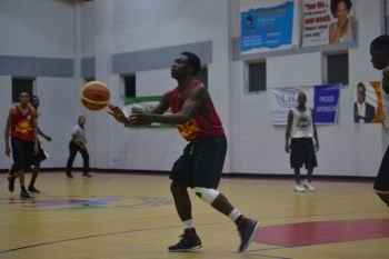 Action from the game between Game Boyz and Warrias on Friday September 12, 2014. Photo: Charlie E. Jackson/VINO