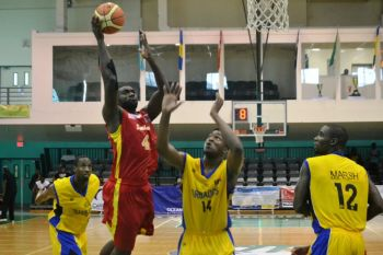 Suriname surprised Barbados to progress into the 5th/6th place play off against St Vincent and the Grenadines. Photo: Charlie E. Jackson/VINO