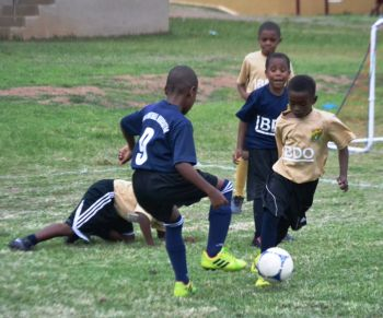 The final of the BDO U7 League is scheduled for Wednesday December 3, 2015 on the renovated A.O. Shirley Ground. Photo: Charlie E. Jackson/VINO