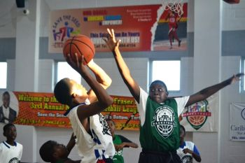 In the Junior Division, the game on Saturday September 26, 2015 between Swaggas and Elite Ballerz was forfeited in favour of Swaggas. Photo: Charlie E. Jackson/VINO