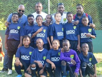 Bregado Flax Educational Centre-Primary Division beat St George's Primary 2-0 in the U9 Final. Photo: Charlie E. Jackson/VINO