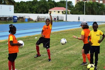 The CONCACAF World Women's Day event was hailed a success. Photo: Charlie E. Jackson/VINO