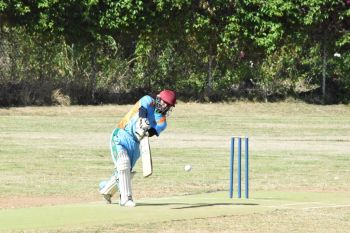Curtis Jack fell for 99 as RTW amassed 284 - 2 against the Royal Knights. Photo: Charlie E. Jackson/VINO