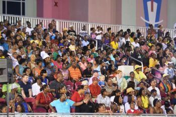 They came, they saw and they definitely want more! In response to the support given by fans and athletes alike, the Twilight Meet organisers promise even more Caribbean national athletes as well as home grown runners for 2014. Photo: Charlie E. Jackson/VINO/File