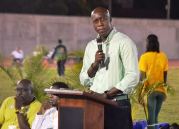 The Honourable Myron V. Walwyn, Minister responsible for Sports, was a huge supporter of the event that has laid a benchmark for future endeavours. Photo: Charlie E. Jackson/VINO