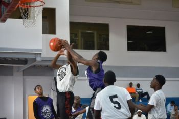 Action in the Junior Division between Swaggas and Junior Avengers in the Hon Julian Fraser Save the Seed League on Sunday September 13, 2015. Photo: Charlie E. Jackson/VINO