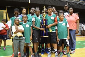 The Seventh-day Adventist School players were commended for their excellent performance as it was the first time the school was involved in the tournament. Photo: Charlie E. Jackson/VINO