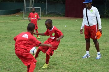 The Centre of Excellence has been credited with improving youth football. Photo: Charlie E. Jackson/VINO