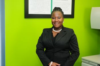 Ms Scatliffe is currently employed at the Department of Trade & Consumer Affairs as an Executive Officer/Personal Assistant to the Director. Photo: Provided