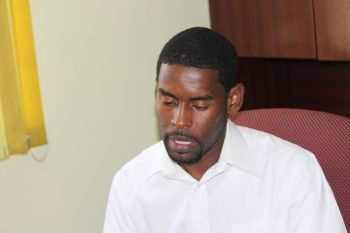 Mr Damion Grange said there is a lot of personal growth to be derived from participating in such pageants as Miss World and he hoped the community could understand that the initiative to re-introduce the Miss World BVI Pageant is a positive one that can only have a positive impact for both the Territory and the participants. Photo: VINO