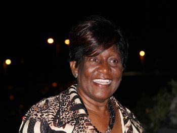 Fifth District Representative Honourable Delores Christopher said that while the territory has lost a true daughter of the soil she is convinced that Corrine spent her time well. Photo: VINO/File