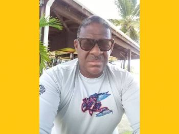 Mr Dickson C. Igwe said the programme, sponsored by Unite BVI, Nanny Cay Resort & Marina and other corporate partners allows for anyone in the VI to register and join the beginner's classes. Photo: Provided