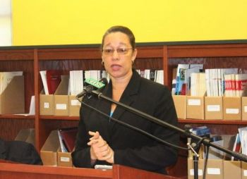 Permanent Secretary in the Ministry of Education, Dr Marcia Potter, who is also the Deputy Chair of Caribbean Examination Council (CXC) said the Ministry is still awaiting word from CXC whether students in the Virgin Islands may have to re-take the 2019 Caribbean Secondary Education Certificate (CSEC) math exam. Photo: VINO/File