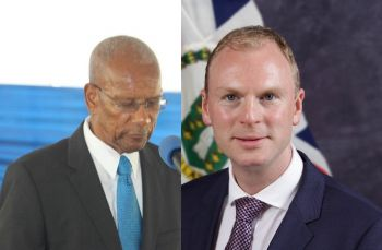 Both Premier and Minister of Finance Dr The Honourable D. Orlando Smith (AL), left, and Governor Augustus J. U. Jaspert, right, are out of the Territory but will be back to ring in the New Year in the Virgin Islands. Photo: VINO/GIS