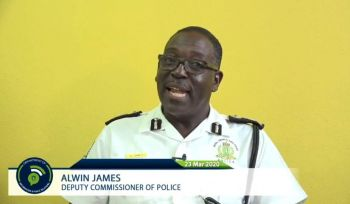 Deputy Police Commissioner Alwin James said the Royal Virgin Islands Police Force (RVIPF) is working in partnership with HM Customs and is deploying its marine assets and resources to protect the Territory's borders especially in those vulnerable areas that we have identified. Photo: Facebook