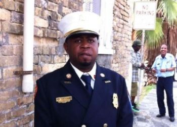 Mr Bryan also announced Daryl A. George Sr as Director of the Virgin Islands Fire Service (VIFS). Photo: VI Consortium