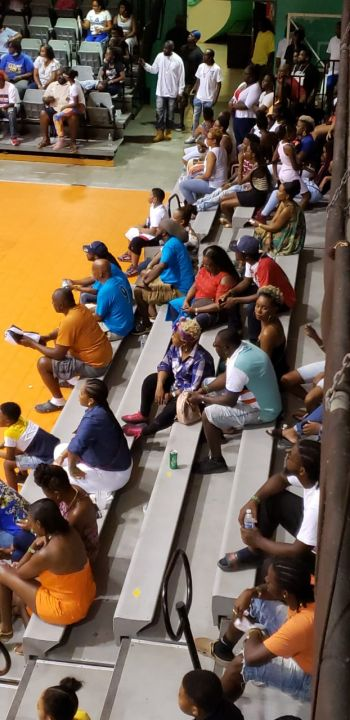 Some of the patrons at the King of the Courts Championships at Multi-Purpose Sports Complex on Saturday, June 20, 2020. Photo: Facebook