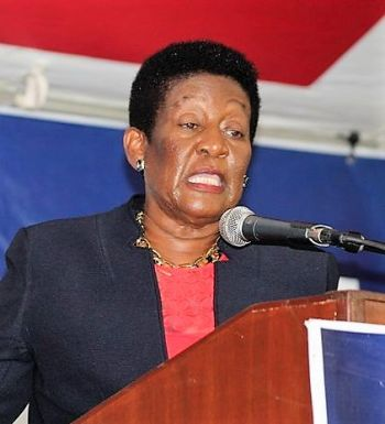 Honourable Delores Christopher, the representative for the Fifth District has also indicated to the NDP that she will not seek reelection. Photo: VINO/File