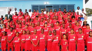 The Digicel Centre of Excellence will continue every Saturday for boys and girls both from Tortola and Virgin Gorda. Photo: Provided