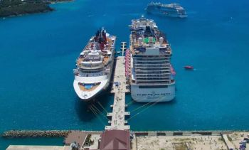 Following the attendance to the Seatrade Cruise Global 2019 Conference in Miami, Florida, in April last—as part of government's mandate to drive to the number of ships calling at the Territory's ports during the peak season—a new agreement has been met with the Norwegian cruise line, which has agreed to surrender its unused berths paving the way for other cruise lines to dock in the Territory. Photo: VINO/File