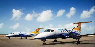 InterCaribbean Airways has in recent days had several delays causing passengers to be stranded in several countries. Photo: Internet Source