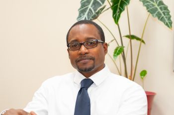 Chief Executive Officer (CEO) of the BVI Health Services Authority, Dr. Ronald E. Georges. Photo: GIS/File