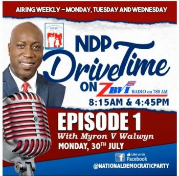 "Hon Myron V. Walwyn during a recent NDP 'Drive Time' radio programme, told listeners, ""…audits are standard in government and are conducted under every administration, including the VIP."" Photo: VINO/File"