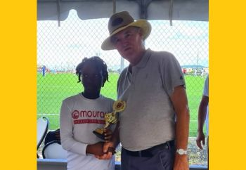 Chelsea Edwards was named Best Young Player. Photo: BVIFA