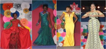 Scenes from the evening wear segment at the Sir Rupert Briefcliffe Hall in Road Town on Saturday July 29, 2017. Photo: VINO