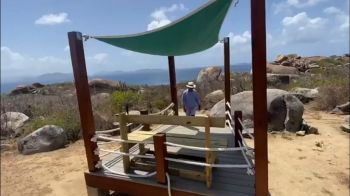 One of the enhancements to The Baths on Virgin Gorda. Photo: Facebook