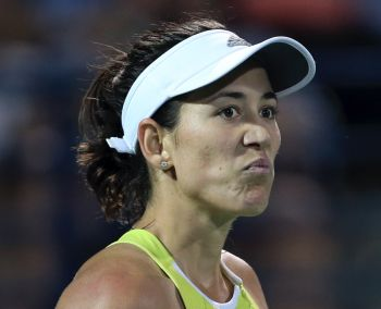 The Spaniard Garbine Muguruza Blanco crumpled in the third set as 100th-ranked Sachia Vickery clinched the biggest win of her young career. Photo: tennis.com