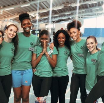 Over 30 contestants competed in the Miss World 2019 Sports Challenge as part of four teams – Red Team, Green Team, Yellow Team and Blue Team. Miss World BVI, Rikkiya A. R. Brathwaite was part of the Green Team. Photo: Provided