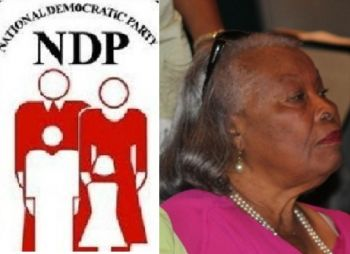 Former legislator and National Democratic Party supporter Eileene L. Parsons OBE, in a leaked letter published by this news site, had warned that all was not well in the NDP and had spoken out against the treatment of its women legislators. Photo : VINO/File