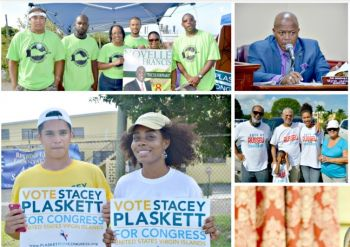 The Primary Elections were held in the US Virgin Islands on Saturday August 6, 2016. Photo: VIC
