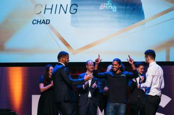 On November 28, 2018, Virgin Islander and Caribbean entrepreneur, Chad A. Lettsome, left his imprint with 'Ching' as he walked across the stage at the 'Present Your Startup Global 2018' competition in Haarlem, Netherlands. Photo: Provided