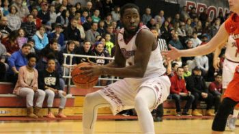 Norville S. Carey has posted six double-doubles, good for fifth in the MAAC. Photo: Rider Athletics/File