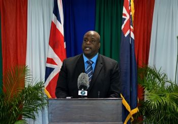According to Premier and Minister of Finance Honourable Andrew A. Fahie (R1), his Government is willing to respect the voices of the people of the Virgin Islands so that common grounds can be found on the issue of immigration. Photo: GIS/File