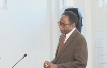On May 28, 2020, Third District Representative, Hon Julian Fraser RA (R3) moved a motion to reprimand the sitting Governor, His Excellency Augustus J.U. Jaspert over the late tabling of the BVI airways audit report delivered to the House; however, the motion failed with only two votes. Photo: Facebook