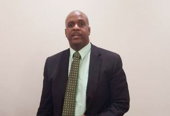 Premier and Minister of Finance and Tourism of the Virgin Islands (VI), Honourable Andrew A. Fahie (R1), condemns terrorist attack on NZ Mosques. Photo: VINO/File