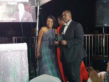 Honourable Fahie, the youngest Premier of the Virgin Islands—48 years-old at a time when the VIP celebrates their 48th Anniversary—was also presented with the party's Outstanding Leadership Award. Photo: VINO/File
