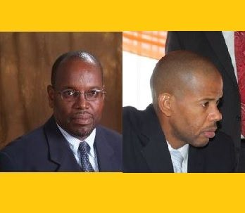 Mr Glenroy A. Forbes (left) will take on the role of Financial Secretary (FS) effective Tuesday June 6, 2017. Former Financial Secretary Neil M. Smith (right) has been reassigned to a new unit under the Ministry and will deal with Tax Information Exchange Agreements among other things.