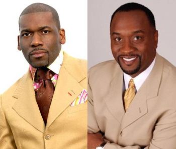 The book was endorsed by Dr Jamal H. Bryant (left) and foreworded by Bishop Daryl S. Brister (right), published by Jasher Press & Co and is copyrighted. Photo: Provided