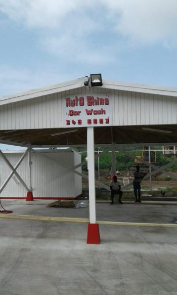 The newest gas station to be opened in Sea Cow's Bay will also feature a car wash. Photo: VINO