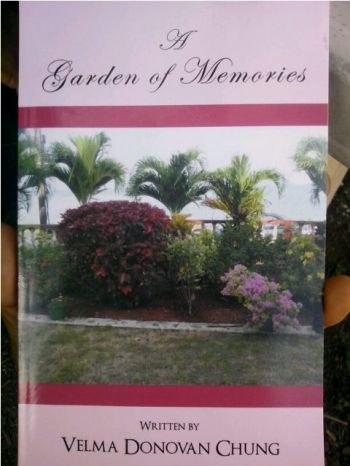 Copy of Ms. Chung's Book that was released in March 2012 and consists of 37 poems. Photo: Provided