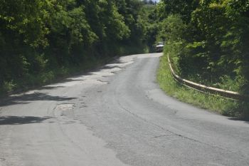 The Great Mountain Road was given priority for repair in the Fifth District, according to Hon. Delores Christopher. Photo: VINO/File